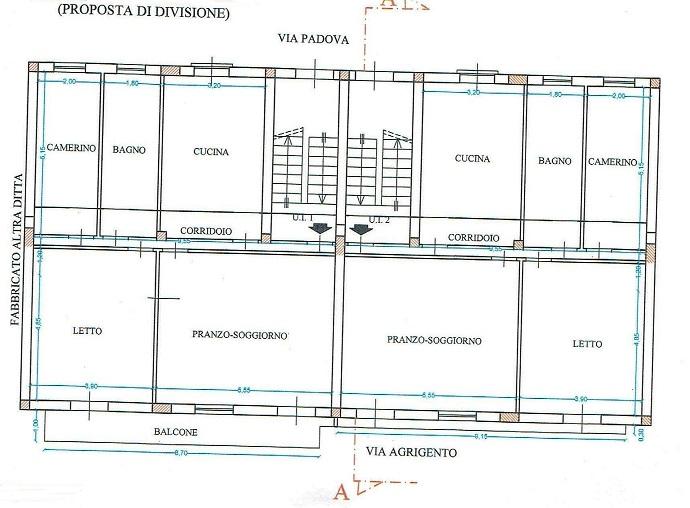 L-217 CATENANUOVA – VIA PADOVA – VIA AGRIGENTO